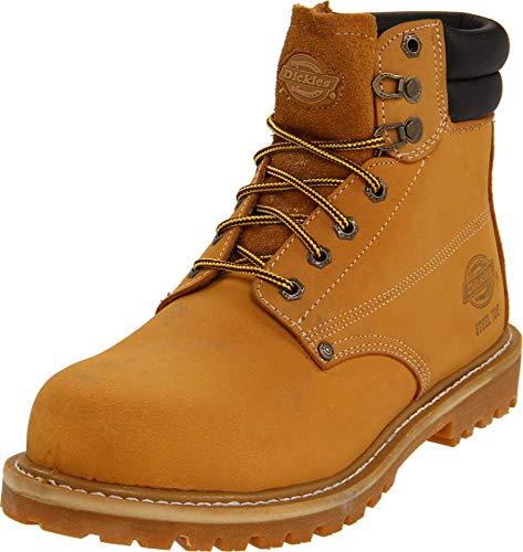 Dickies Raider Steel Toe Wheat 12