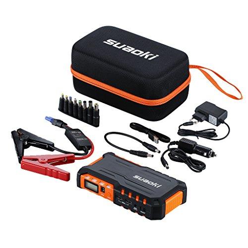 Suaoki G7 18000mAh 600A Jump Starter, Démarrage de Voiture Booster Batterie Alimentation...