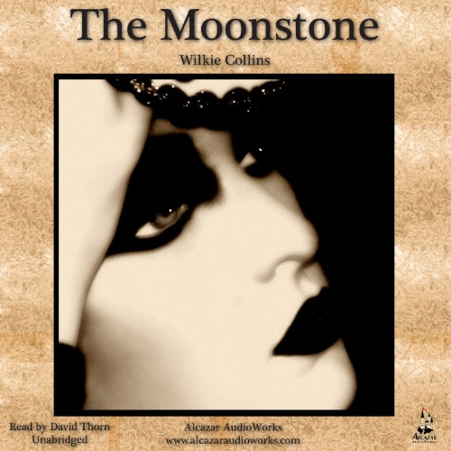 The Moonstone audiobook cover art
