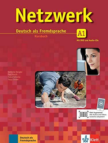 Netzwerk A1: Deutsch als Fremdsprache. Kursbuch mit 2 DVDs und 2 Audio-CDs (Netzwerk / Deutsch als Fremdsprache)