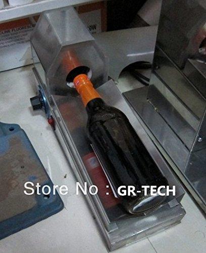 Baoshishan Wickelmaschine + handliche tragbare Schrumpfflasche mit Kunststoff-Folie, 220 V-240 V