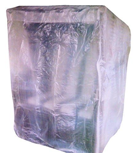 colourliving Schutzhülle für Strandkorb mit Reißverschluss Plane Garten Abdeckung Gartenmöbel transparent