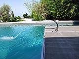 CASCADES-INOX 304 Fontaine Piscine Bassin Modèle Mini Cobra Hauteur 35cm / Largeur...
