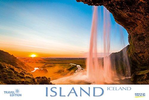 Island 212919 2019: Großer Foto-Wandkalender mit Bildern von der Insel der vielen Vulkane. Travel Edition mit Jahres-Wandplaner. PhotoArt Panorama Querformat: 58x39 cm.