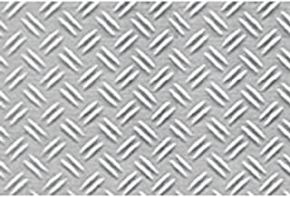 JTT Scenery Products Plastic Pattern Sheets: Double Diamond Plate