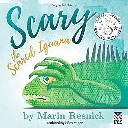 Scary the Scared Iguana