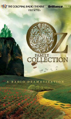 Oz Family Collection: The Wonderful Wizard of Oz, The Marvelous Land of Oz, Ozma of Oz, Dorothy and the Wizard in Oz, Th