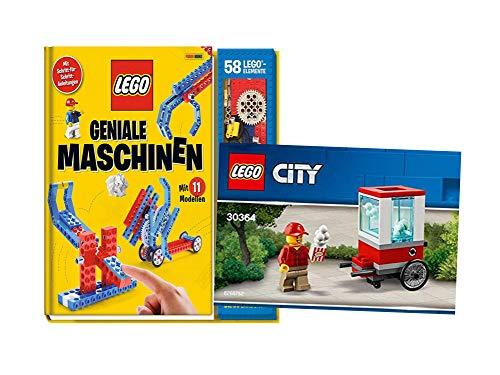 LEGO® Máquinas geniales: con 11 modelos de piedras y 1 bolsa City 30364.