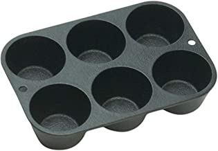 Cast Iron Popover Muffin Pan Homemade Muffins Are Always a Treat It Is Conditioned at a Foundry for a Natural Easy-Release Surface Original Non-Stick Surface That Is Safe for Cooking 7.62