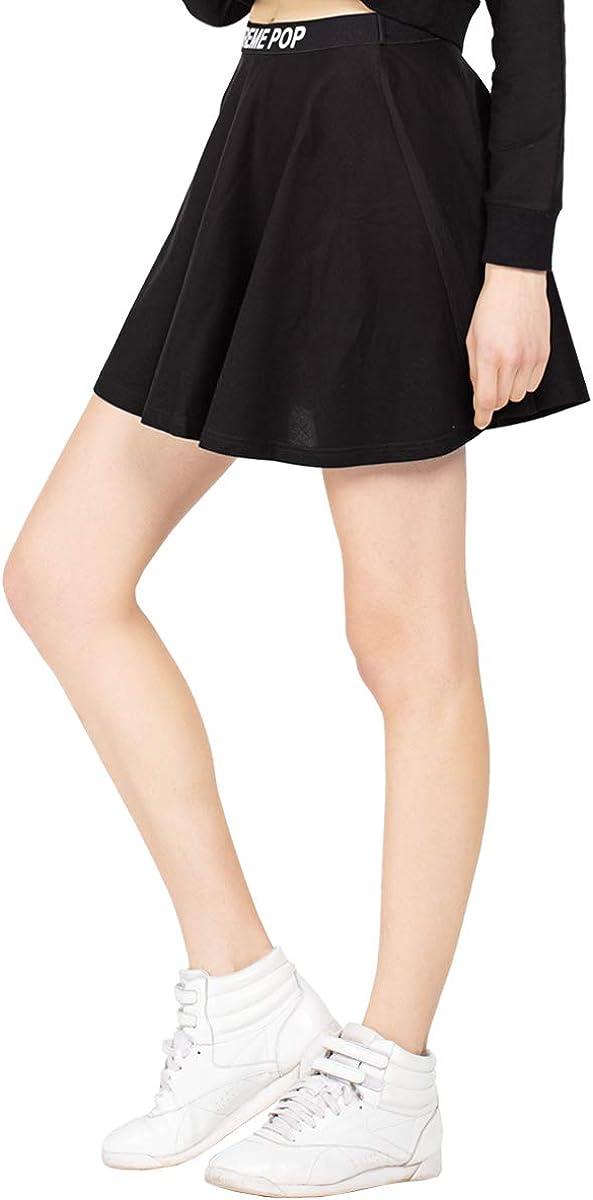 Extreme Pop Mini Skirt for Women's Above Knee High Waist Tennis Skater UK Brand