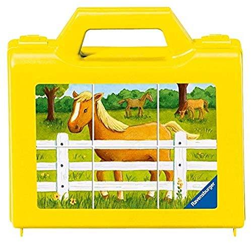 Ravensburger - 07463 - Puzzle Enfant Cubes - Mon chantier - 6 cubes