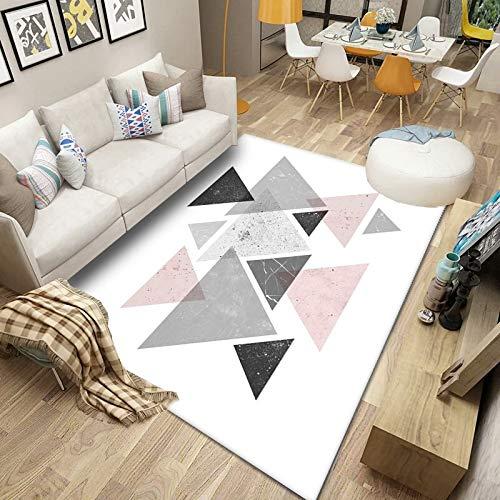 DJUX Alfombra Pelo De Oveja Artificial Alfombra Suave, Estilo Shaggy, Decoración Dormitorios, Adecuado para Sillón,160x230cm