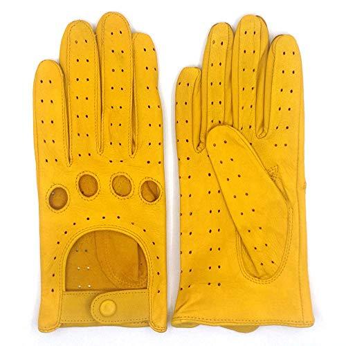 guanti pelle uomo ZLUXURQ Guanti in pelle da donna