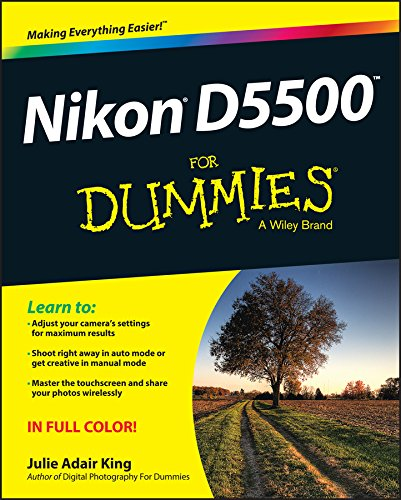 Nikon D5500 For Dummies (English Edition)