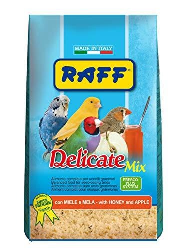 RAFF Delicate Mix 500 GR - con Miele E Mela per Uccelli GRANIVORI