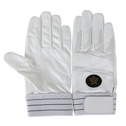 TONBOREX(トンボレックス) レスキューグローブ 消防団用 合皮手袋 ホワイト E-843WD Mサイズ