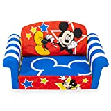 Marshmallow Furniture, Children's 2-in-1 Flip Open Foam Sofa, Disneys Mickey Mouse, by Spin Master