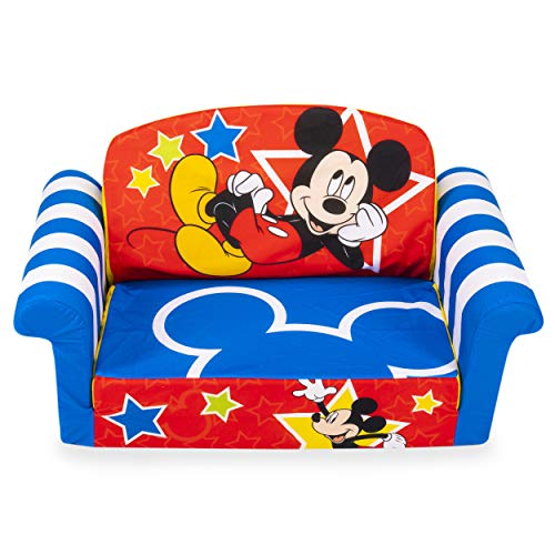 Marshmallow Furniture, Children's 2-in-1 Flip Open Foam...