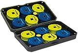 Fox Matrix Small EVA Storage Case - Angelbox für Vorfächer zum Stippangeln & Feederangeln, Box für Stippmontagen, Tacklebox