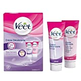 VEET Lot de 5 Crèmes Décolorante - Spéciale visage 1 étui de 2 tubes de 30 ml