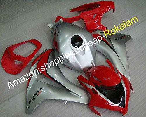 Best Price Kit For Fairing CBR1000RR 2008-2011 Red Black Silver CBR1000 RR 08 09 10 11 Motorbike Fairing (Injection molding)