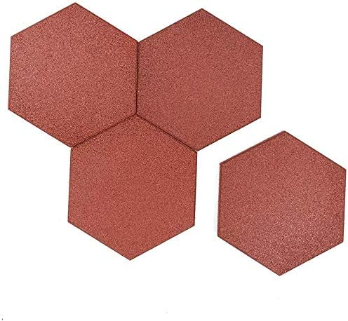 RevTime 20 Popular popular Limited time cheap sale pcs Hexagon Rubber Pavers 10-1 3 for Gar 4