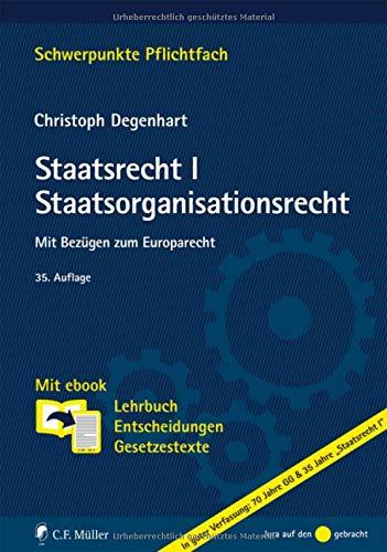 staatsorganisationsrecht lehrbuch