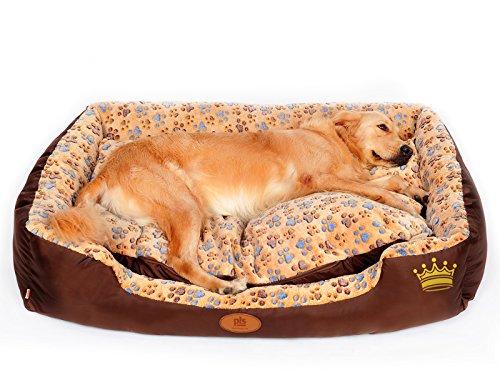 PLS Sweet Spot Birdsong Bolster Dog Bed