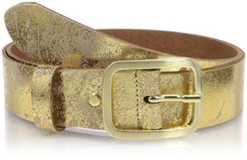 MGM Damen Soft Glam Gürtel, Gold (Gold-Used 2), 85 cm (Herstellergröße: 85)