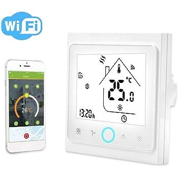 Termostato de aire acondicionado central WiFi inteligente ...