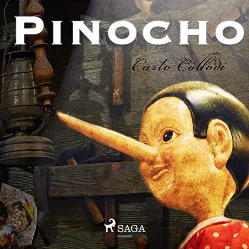 Pinocho audiobook cover art