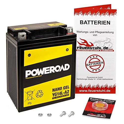 Gel-Batterie für BMW C1 200, wartungsfrei, einbaufertig, startklar, inkl. 7,50€ Pfand
