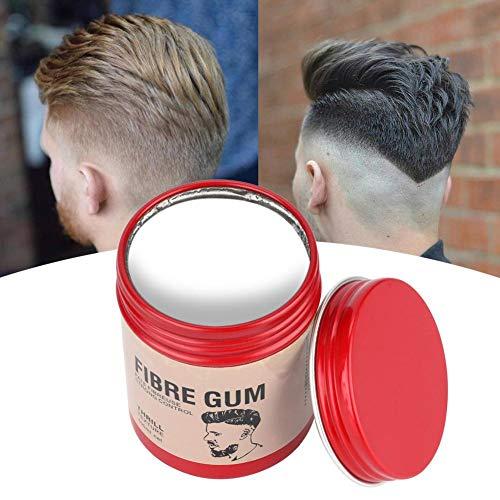 Filfeel wosume Huile Capillaire, Argile Capillaire pour Hommes Boue de Cheveux Moelleuse Longue durée pour la Coiffure 100g(White)