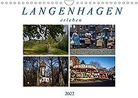 Langenhagen erleben (Wandkalender 2022 DIN A4 quer): Fotografische Impressionen von Langenhagen (Monatskalender, 14 Seiten )