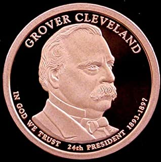 2012-S Grover Cleveland 1893 PROOF Presidential Dollar Coin