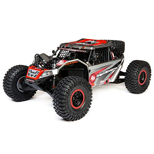 Losi RC Truck 1/6 Super Rock Rey 4WD Brushless Rock Racer RTR (Ready-to-Run) with AVC, Baja Designs, LOS05016T2