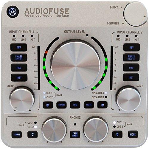 4. Arturia AudioFuse USB Audio Interface