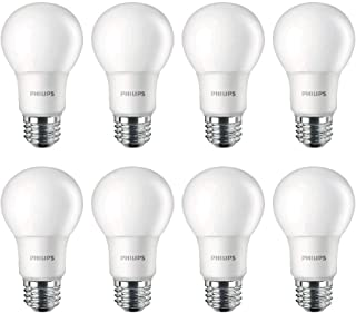 Philips LED Non-Dimmable A19 Frosted Light Bulb: 1500-Lumen, 5000-Kelvin, 14-Watt..