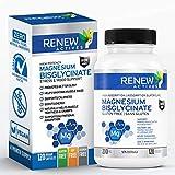 Renew Actives Magnesium Glycinate Supplement:...