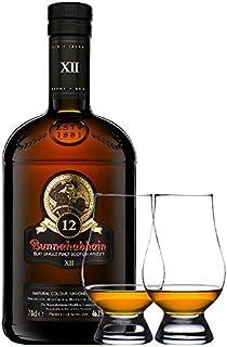 Bunnahabhain 12 Jahre Single Malt Whisky 0,7 Liter  2 Glencairn Gläser