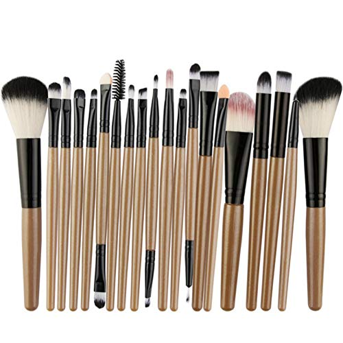 Conjunto de 22 pincéis de maquiagem Handfly para maquiagem, conjunto de ferramentas de beleza, conjunto de cosméticos, base, blush, delineador, pó para rosto, pincel para maquiagem, kit super macio