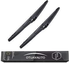 OTUAYAUTO Rear Windshield Wiper Blades - 2 Pieces of 12