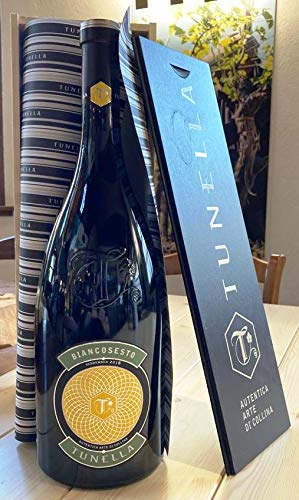 TUNELLA BIANCOSESTO Vino bianco (Friulano e Ribolla) JEROBOAM 3 LITRI CON CASSA LEGNO