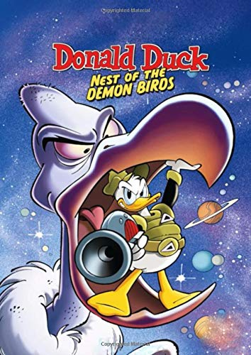 Donald Duck: Walt Disneys Comics And Stories, Journal, Diary (130 Pages, 8.27' x 11.69', in lines with a margin) College Ruled, Workbook for Kids, Teens, Students, Unique Notebook