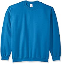 Gildan Men's Fleece Crewneck Sweatshirt, Antique Sapphire, Large