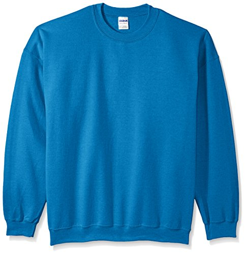 Gildan Men's Heavy Blend Crewneck Sweatshirt - Medium - Antique Sapphire