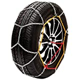 """Husky Sumex Winter Classic Alloy Steel Snow Chains for 15"""" Car Wheel Tyres"""