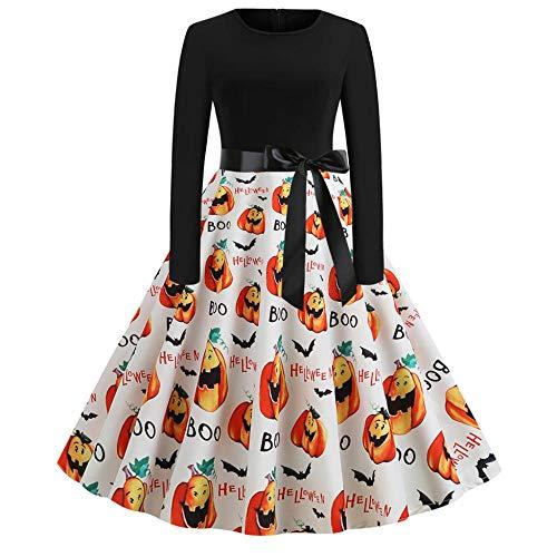 Averyshowya Disfraces para Adultos Graciosos Disfraces para Adultos Mujeres Adultas Disfraz de Novia de cadáver de Halloween Cosplay Dress @ S