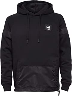G-STAR RAW Prisoner Mix Hooded Sudadera con Capucha para Hombre