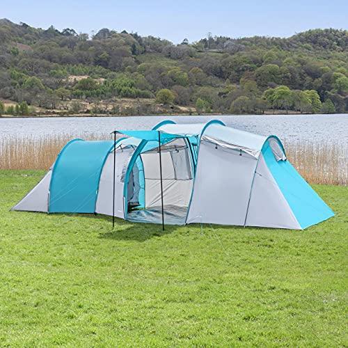 Forager Tienda De Campaña Indiana 6 Personas - Equipamientos De Camping Y Accesorios...